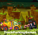 Spongebob Halloween Truck